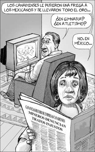 Injusta Olímpica - Fisgón