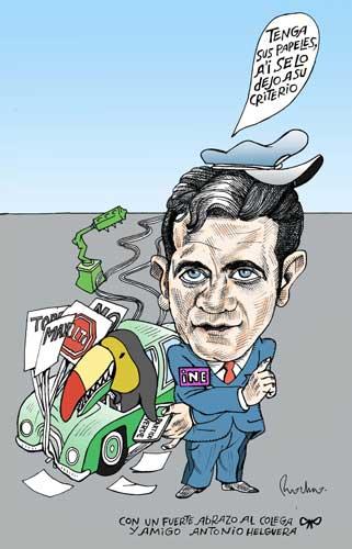 La autoridad electoral - Rocha