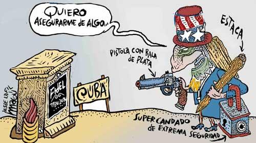 Fidel, sepultado - Magú