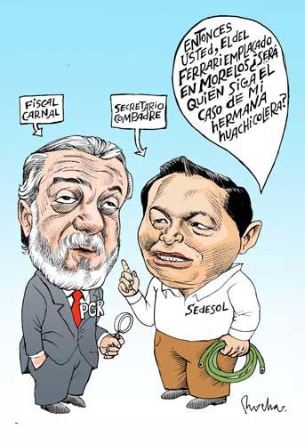 Todos los hombres del presidente - Rocha