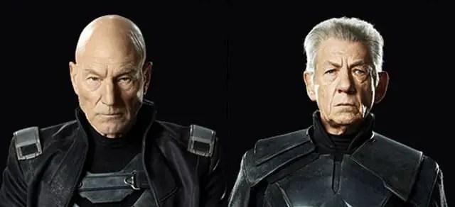 Charles Xavier e Magneto