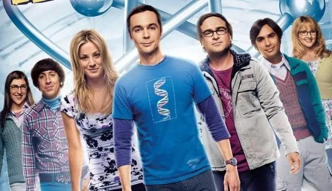 Elenco protagonista da série The Big Bang Theory