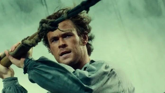 imagem do filme No Coração do Mar, que estará na Netflix