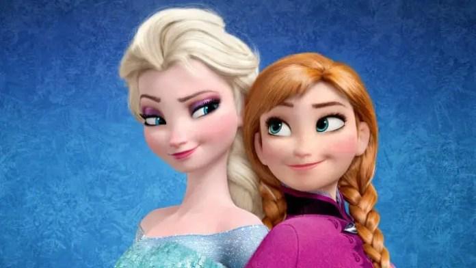 Imagem da animação Frozen