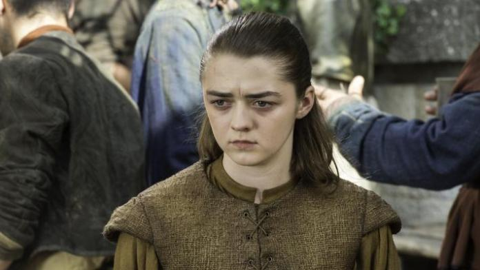 Arya Stark em GOT / Game of Thrones