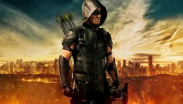 Imagem promocional da série Arrow