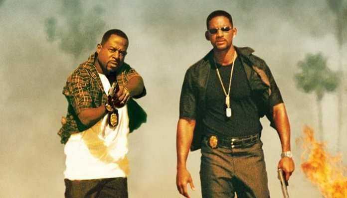 Martin Lawrence e Will Smith em Bad Boys 2