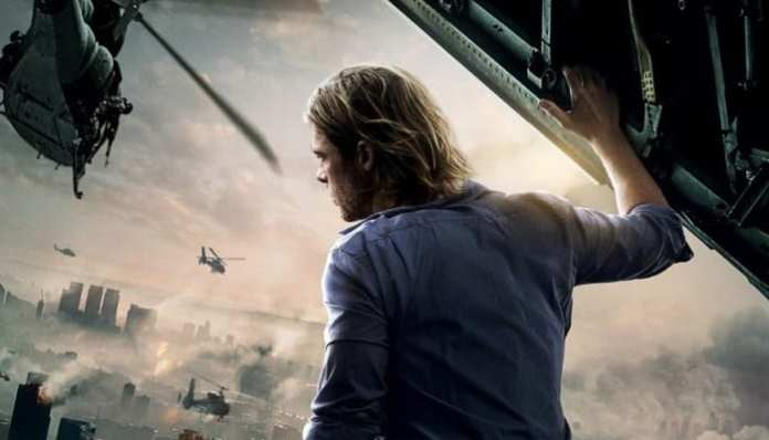 Guerra Mundial Z estrelado por Brad Pitt