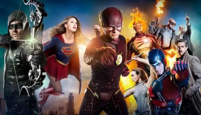 Imagem do universo DC nas séries de TV CW / Arrowverse