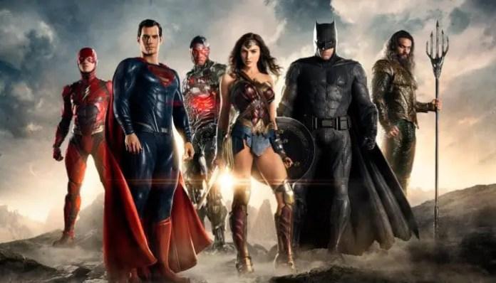 Primeira imagem promocional do filme Liga da Justiça