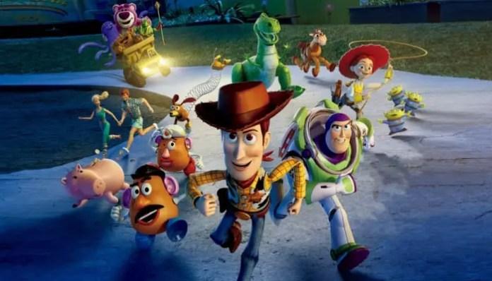 Imagem da animação Toy Story 3 / filme toy story 4 em desenvolvimento