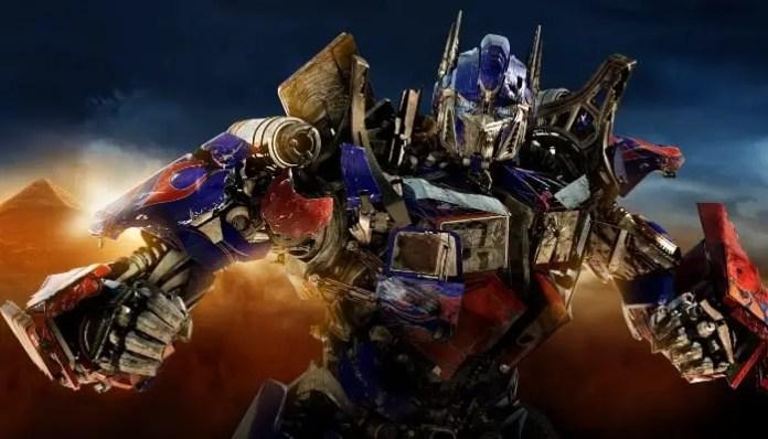 Foto de Optimus Prime no filme Transformers 4