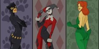 Imagem das protagonistas de Gotham City Sirens