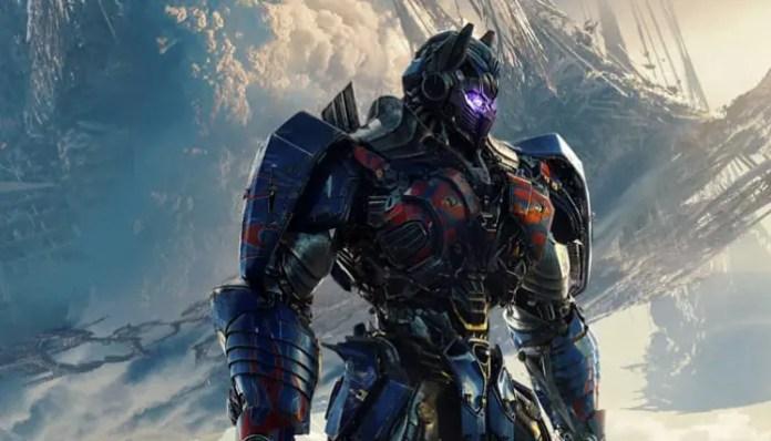 Imagem promocional do filme Transformers: O Último Cavaleiro