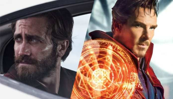 Jake Gyllenhaal em Animais Noturnos e Benedict Cumberbatch em Doutor Estranho