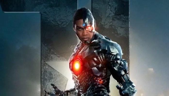 Ray Fisher como Ciborgue em Liga da Justiça