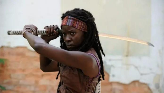 Danai Gurira, da série The Walking Dead, em Vingadores: Guerra Infinita e na Comic Con Experience