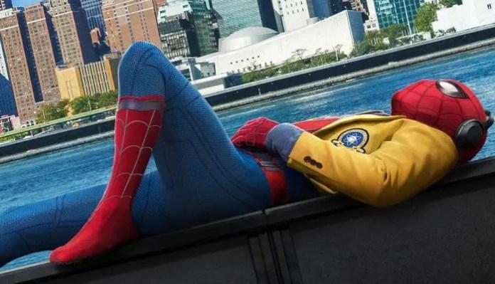 Imagem do filme Homem-Aranha: De Volta ao Lar