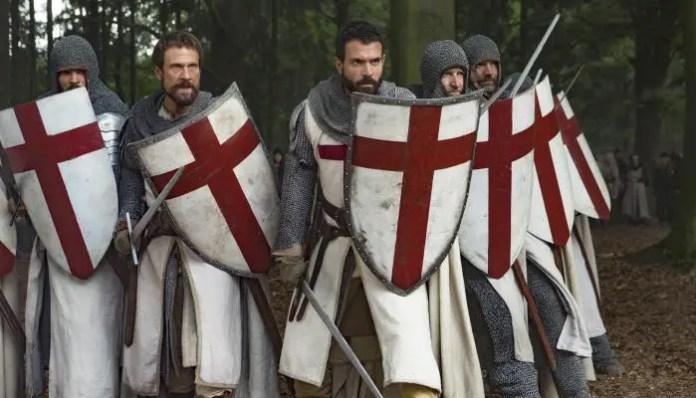 Imagem da série Knightfall, do canal History