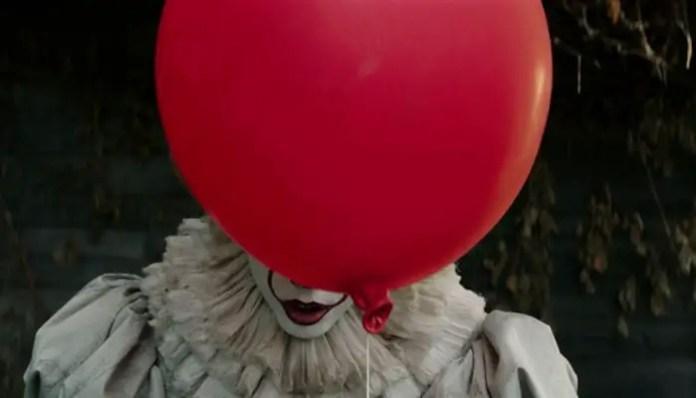 It a coisa pennywise com balão