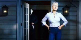 Imagem de Jamie Lee Curtis para o filme Halloween
