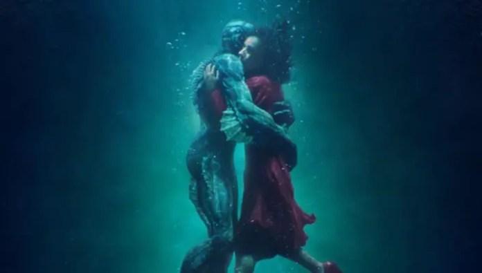 pôster do filme A Forma da Água