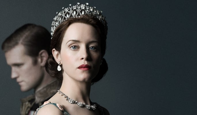 Imagem promocional da 2ª temporada da série The Crown