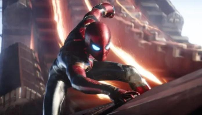 Homem-Aranha em Vingadores: Guerra Infinita