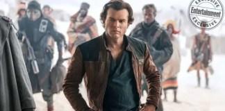 Imagem do filme Han Solo: Uma História Star Wars