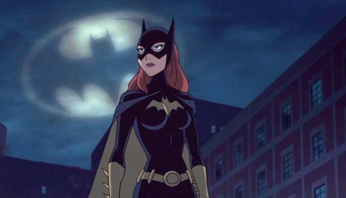 Imagem da Batgirl em animação da DC