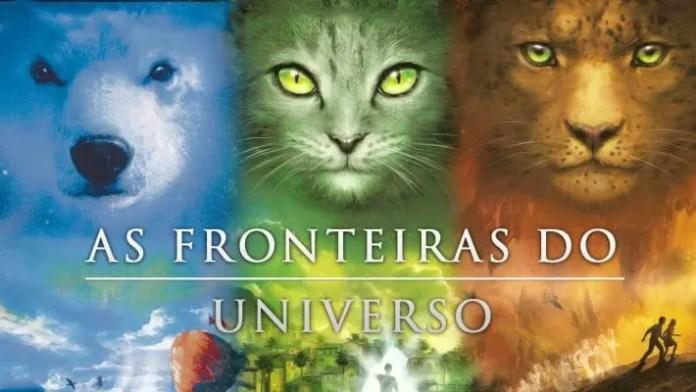capas da trilogia As Fronteiras do Universo