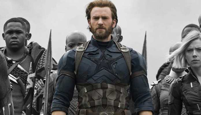 Imagem promocional de Vingadores: Guerra Infinita