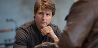 Tom Cruise em Missão: Impossível - Nação Secreta