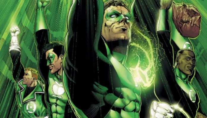 Imagem da Tropa dos Lanternas Verdes