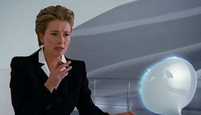 Emma Thompson como agente O