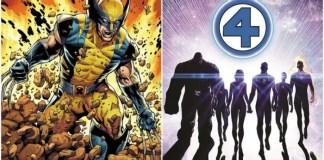 X-Men e Quarteto Fantástico no UCM