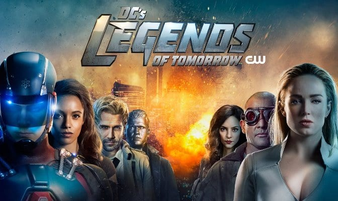 Imagem promocional da 4ª temporada de Legends of Tomorrow