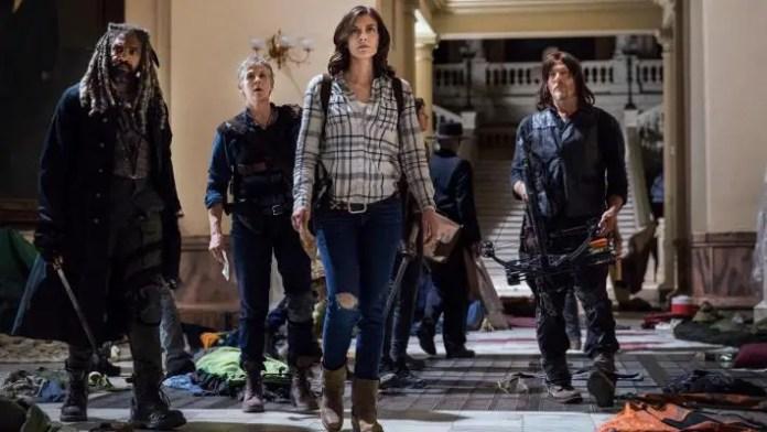 imagem promocional de the walking dead