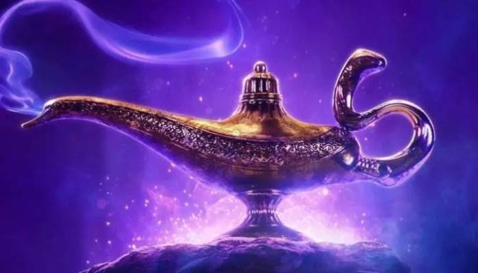 Imagem promocional do filme Aladdin