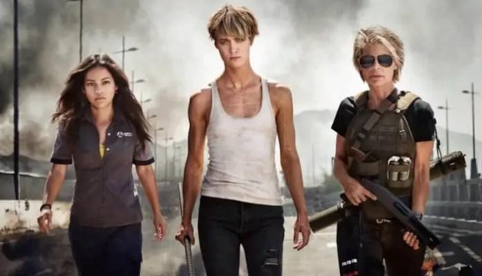 Imagem do filme O Exterminador do Futuro 6