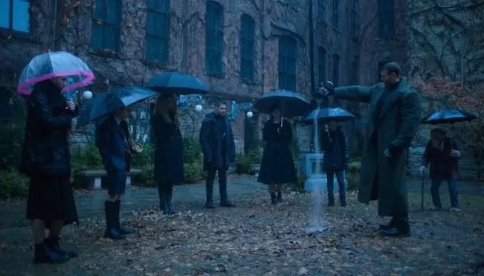Imagem da série The Umbrella Academy