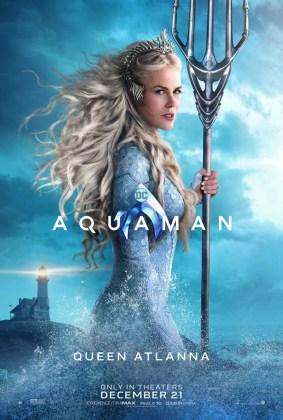 Pôster da Rainha Atlanna em Aquaman