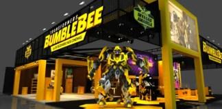 Bumblebee estande CCXP 2018