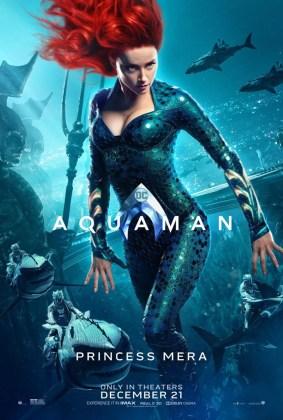 Pôster da Princesa Mera em Aquaman