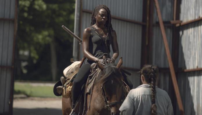 Michonne em The Walking Dead