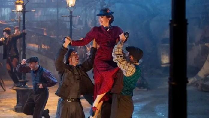 Cena do Filme O Retorno de Mary Poppins