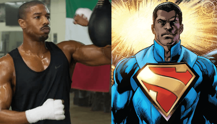 Michael B. Jordan como o Superman de Calvin Ellis