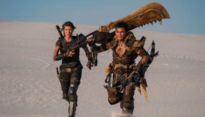 Imagem do filme Monster Hunter