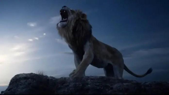 Imagem do filme O Rei Leão