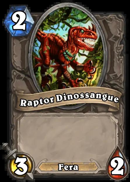 Hearthstone - Raptor Dinossangue